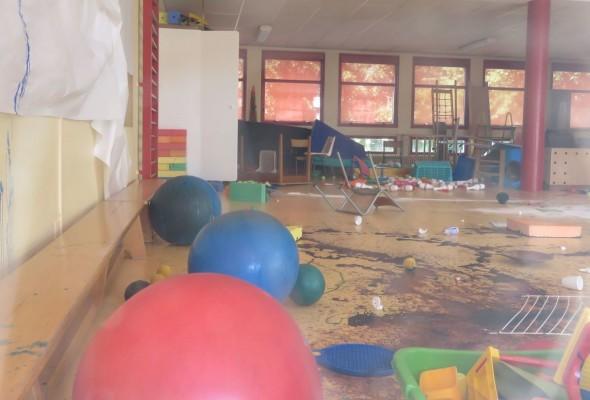 Une maternelle saccagée à Melun