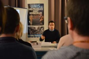 Aymeric Durox, enseignant, secrétaire départemental du CR 77 et coordinateur régional en IDF.
