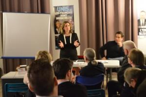 Frédérique Troussard, enseignante, membre du CR 77 et conseillère régionale.