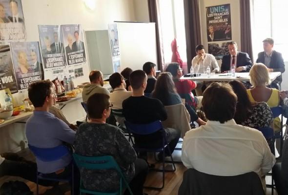 Conférence-débat de fin d'année du Collectif Racine à Melun