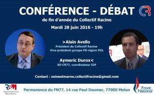 conférence débat mardi 28 juin 2016