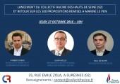 Lancement du CR92 avec Alain Avello, président du CR et Aymeric Durox, coordinateur en IDF