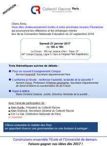 programme conf CR paris